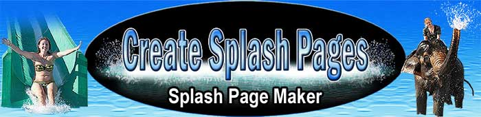 Join Create splash pages today